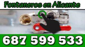 Fontanero Alicante 24 horas